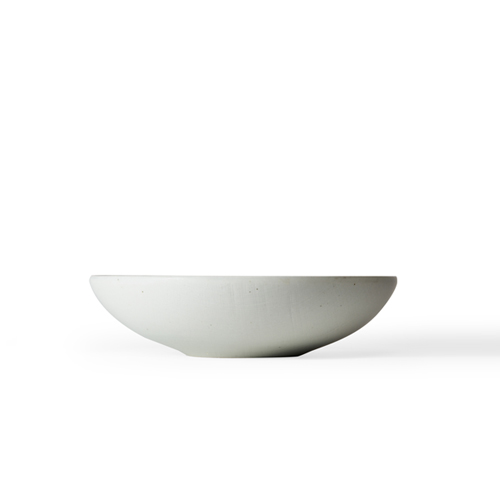 Han-Kyeol Round Bowl 24_Light Blue White