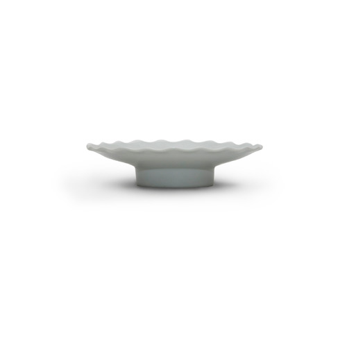 Modern line Raised Lotus leaf-shaped Plate 15