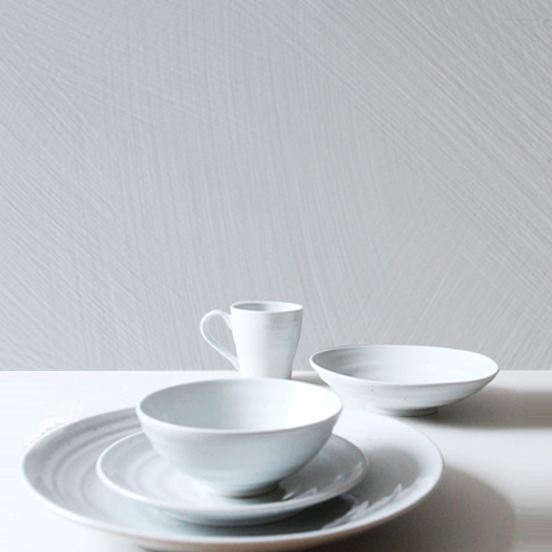 Casual line Dinnerware, Snow Flower 5 Piece Place Setting