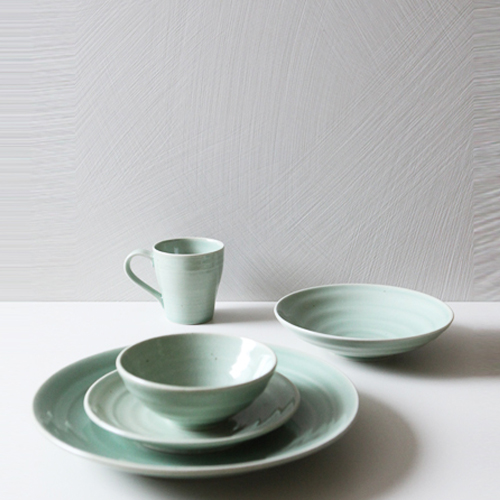 Casual line Dinnerware, Pinetree 5 Piece Place Setting