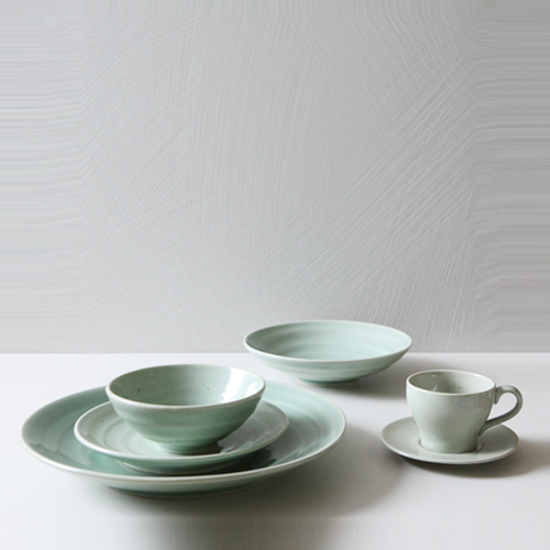 Casual line Dinnerware, Pinetree 6 Piece Place Setting