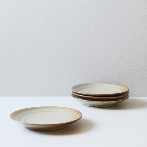 Casual line Oatmeal Round plate 20, set of 4