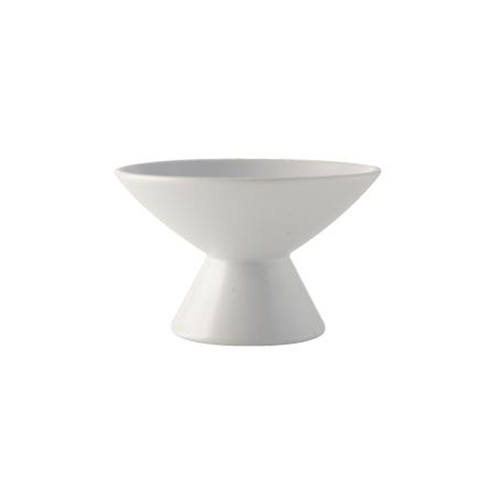 Raised Tulip Bowl_Matt White