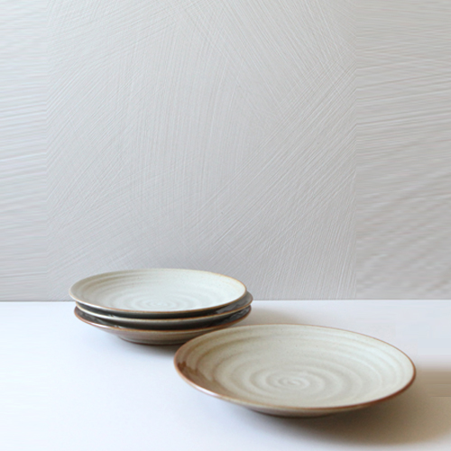 Casual line Oatmeal Round Plate 25, set of 4