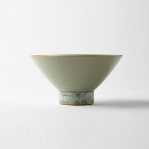 Heritage Celadon Part pattern Tea Bowl