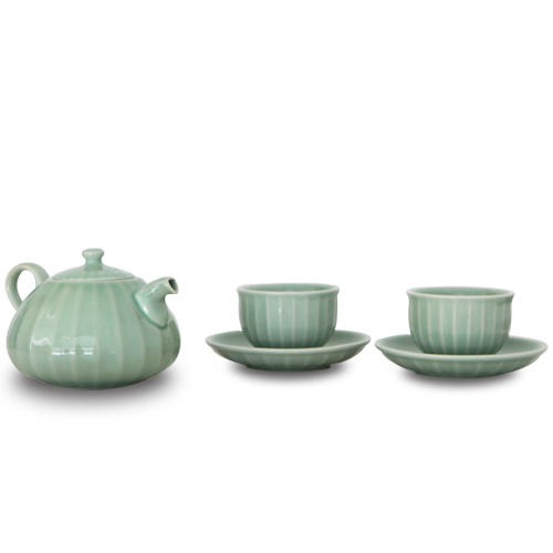 MIGAK LUCKY BAG TEA POT SET_CELADON(GREEN)