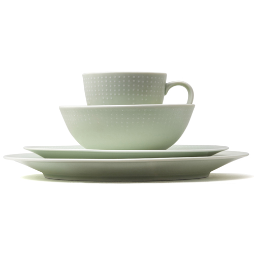 Kwangjuyo Me:Ja Inhwa 4-Piece Place Setting_Light Green