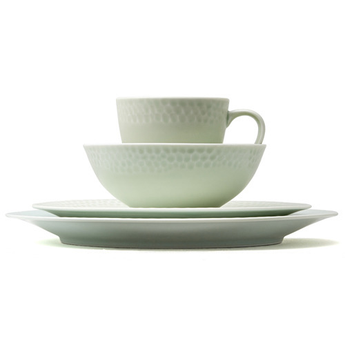Kwangjuyo Me:Ja Bangjja 4-Piece Place Setting,Light Green