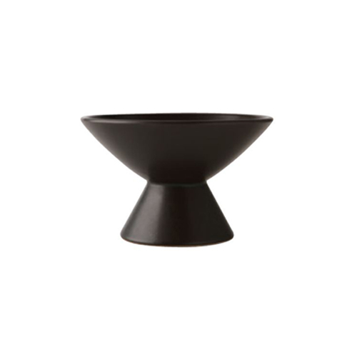 Raised Tulip Bowl_Black
