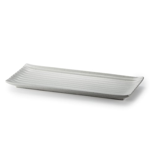 MIGAK RECTANGULAR PLATE 30_GREY
