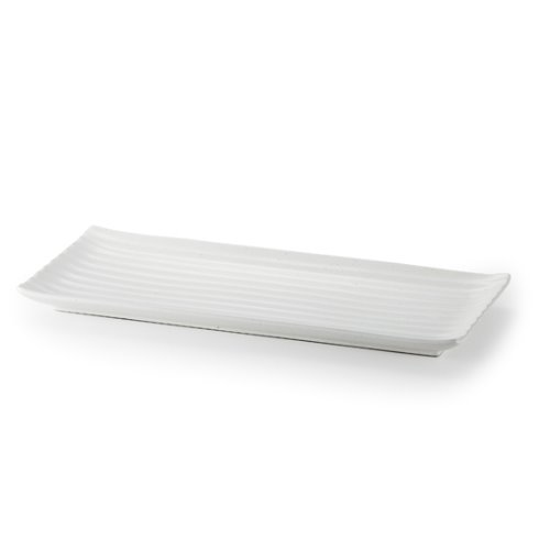 MIGAK RECTANGULAR PLATE 30_WHITE