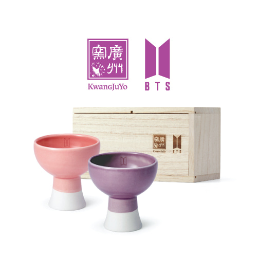 KwangJuyo BTS Color Series Bell Cup (Pink&Purple)